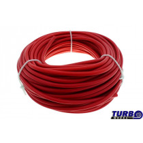 Szilikon vákum cső TurboWorks Piros 4mm
